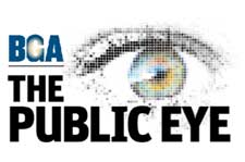 BGA Public Eye graphic
