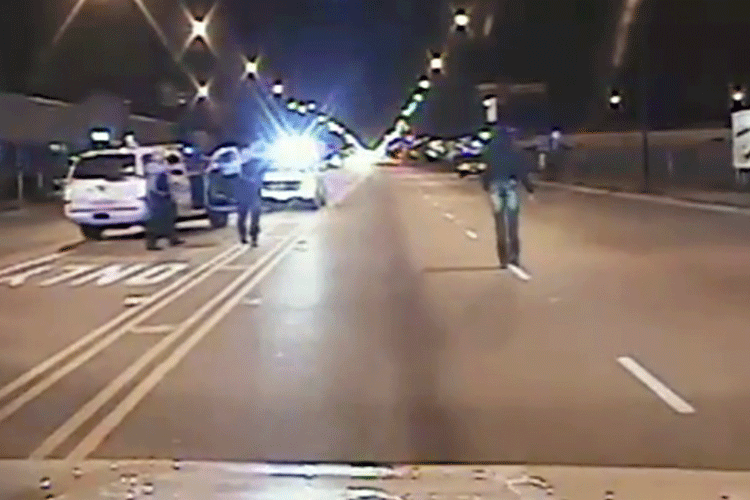 Laquan McDonald Police Shooting Video Still