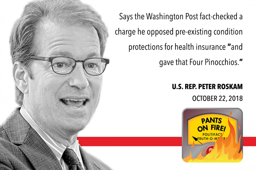Fact-Check: Roskam Fibs about Facts — and Fact Checks — of His