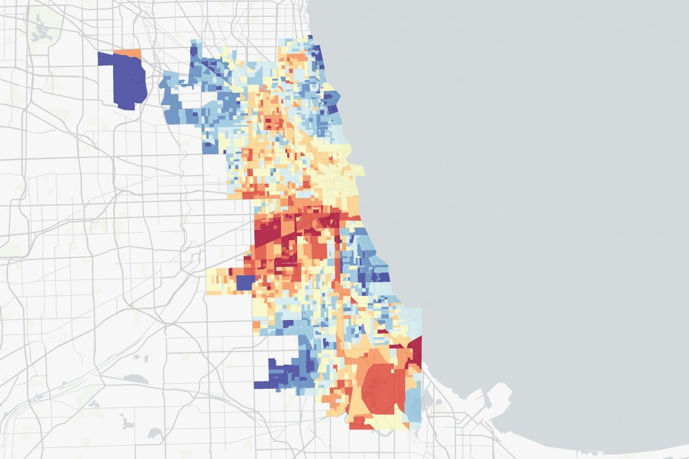 Interactive Map Pollution Hits Chicago S West South Sides