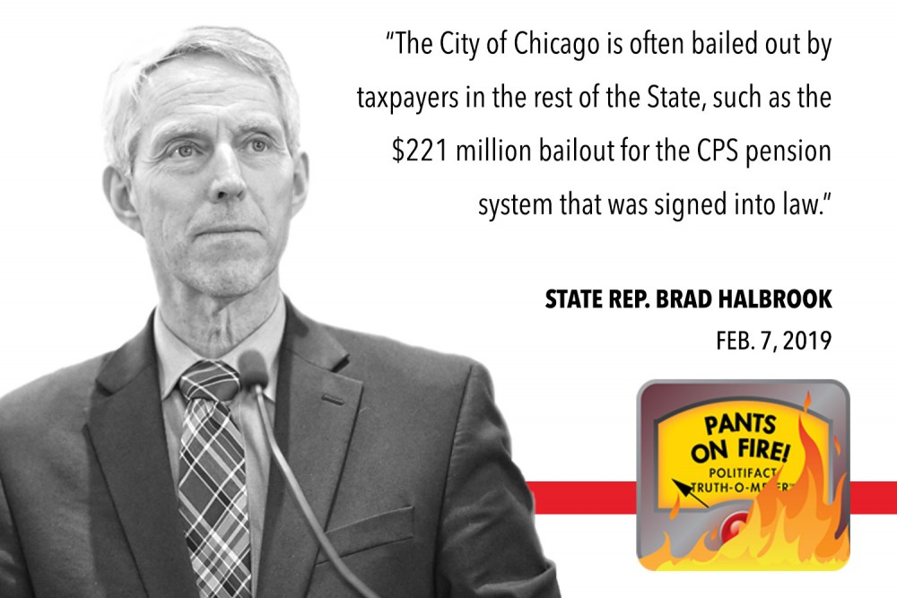 Fact-Check: No, Chicago Isn't 'Often Bailed Out' by State